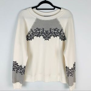 Wildfox | NWT Chantilly Lace Sommers Sweatshirt XS